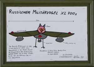 Russischer Militärvogel XL 700s
